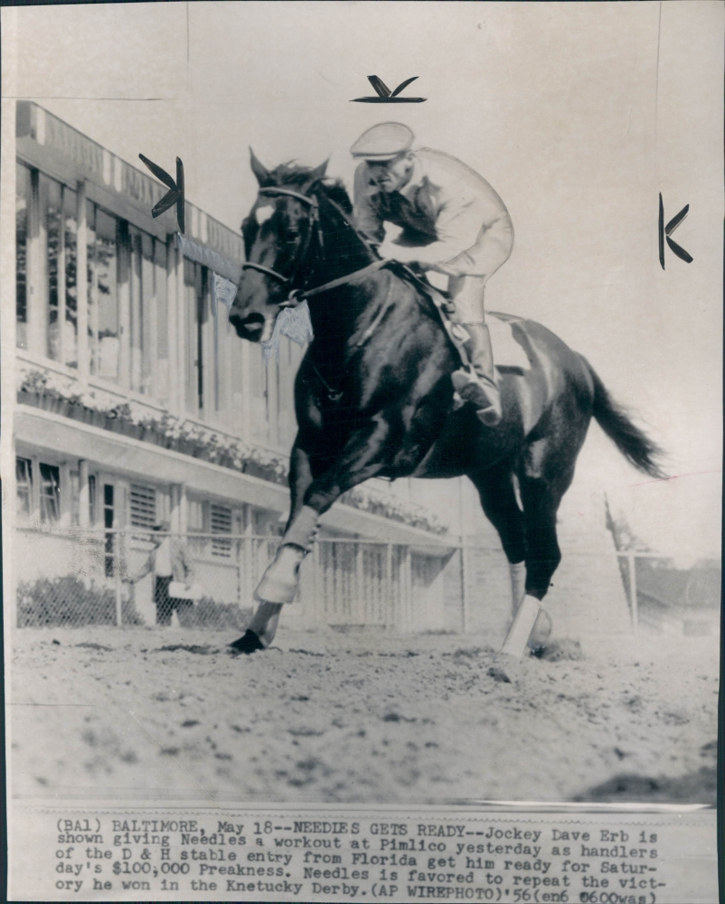 KENTUCKY DERBY OF 1944 1949 1956 REMEMBERING PENSIVE PONDER AND NEEDLES