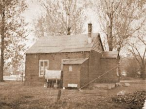 The very first Pointe Claire library, built in the late 19th century.