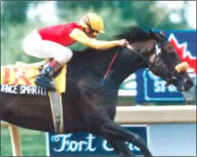 The flow of Dance Smartly and Pat Day coming to the wire was a combination of fire (hers) and ice (his).
