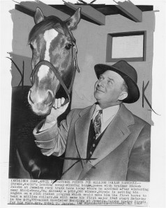 Stymie was The People's Horse from the very start of his long career. The gorgeous chestnut brought in fans by the thousands when he raced.