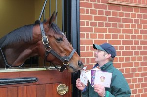 Frankel spent the holidays reading the thousands of Christmas cards he received from fans around the world. On February 14, he begins his career as a sire. Who says there's no romance in thoroughbred breeding?