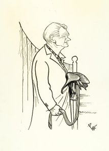 Everett W. King captured by the whimsical pen of PEB.