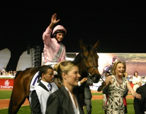 Jockey William Buick, shown here in 2010 at Meydan aboard Sheema Classic winner Da Re Mi, gets the ride on the talented Princess Noor.