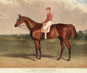 Plenipotentiary (1831), the first winner of the St. James Palace Stakes, took the honours in a walkover.