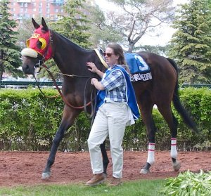 Champion DANCETHRUTHEDAWN, by MR. PROSPECTOR out of DANCE SMARTLY, a brilliant daughter of the Queen of Canadian racing.