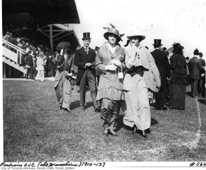 Let's Go To The Races! As early as 1910, Old Woodbine was a fashionable place to see and be seen.