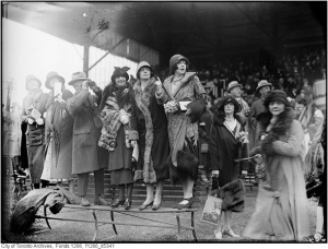 This photo was taken at Old Woodbine in the same year, 1925, that the filly,       won the Plate.