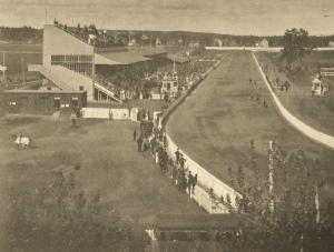 Old Woodbine, pictured above, took the name Greenwood when New Woodbine opened.