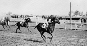 PAOLITA, owned by  comes home in the 1943 King's Plate.