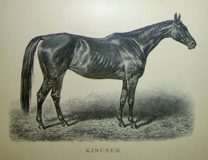 A steel engraving of KINCSEM. Date unknown.