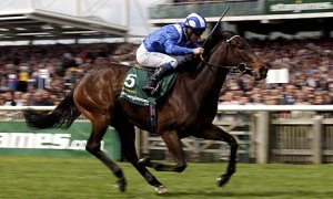 the Richard Hills' trained GHANAATI shown here winning the 1000 Guineas.