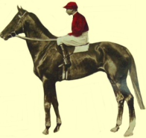 EURYTHMIC would overturn the stakes-winning record of the mighty CARBINE, from whom he descended.