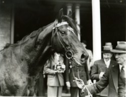 BERNBOROUGH with trainer Harry Plant.