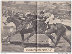BERNBOROUGH (outside) roars passed MAGNIFICENT