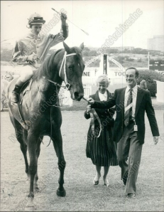Australia's super filly, ROSE OF KINGSTON, pictured here with her owners.