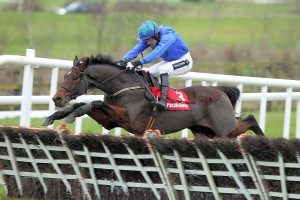 This shot captures the power of The Fly, Ruby Walsh up.
