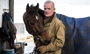 Trainer Willie Mullins and The Fly.