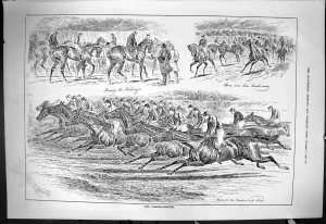1885: the running of the Cambridgshire Handicap.