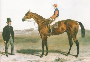 Trainer Tom Jennings (shown here with GLADIATEUR) is a direct ancestor of the Head family.