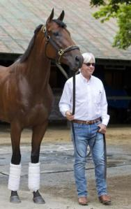 With Bob Baffert at Saratoga