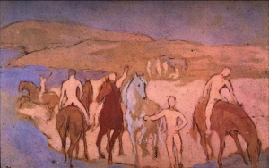 Pablo Picasso. Watering Hole (1906)