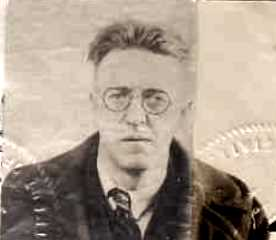 ROBERT PAINE DORMAN. Passport photo.