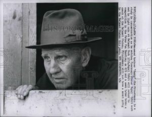 "James ""Sunny Jim"" Fitzsimmons. The most prestigious American thoroughbred trainer of them all. Photo and copyright, THE BALTIMORE SUN."