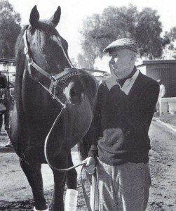 SUNDAY SILENCE with the great Charlie Whittingham.