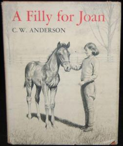 A Filly For Joan was a Christmas present about the same time that I first discovered CWA. It remains a beloved text in my reading landscape.