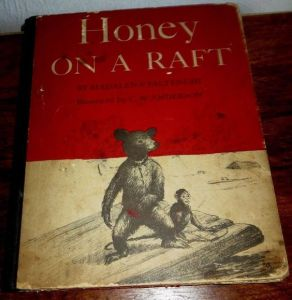 Another early collaboration between CWA and Madeleine Paltenghi was Honey On A Raft.
