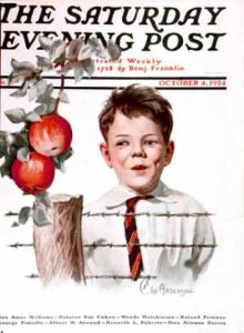 Anderson's cover for The Saturday Evening Post (October 4, 1924)