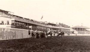 Doncaster racecourse circa 1900...