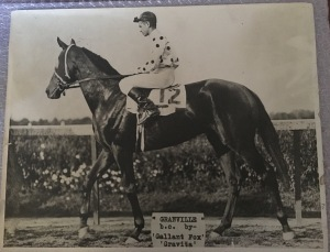 GRANVILLE on track. Photo and copyright, the estate of WJ Gray.