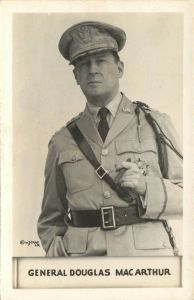 GENERAL DOUGLAS MACARTHUR by W.J. Gray. Photo and copyright, the estate of W.J. Gray.